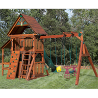 wooden swing set 3